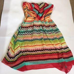 Ruby Rox strapless dress